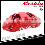 Taiwan Nashin performance brake parts brake rotor aluminium brake caliper