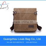 large capacity canvas shoulder bag messenger bag with zipper customized fashionable canvas bag