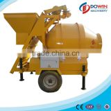 JZM series 750L mobile wheel barrow concrete mixer