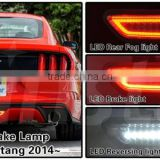 DOT SAE For Mustang LED Reverse Light LED Rear Bumper Fog Light for Mustang 2014 2015 2016 LED Backup light for Mustang 2014+                                                                         Quality Choice