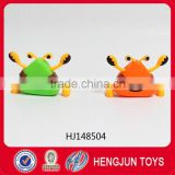 promotion plastic clockwork toys wind up walking triangle crab toy