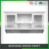 Cao County Wood Wall-Mounted Cupboard Design