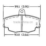 D292 CITROEN for ak brake pad