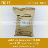 China manufacture Aldehyde ketone resin Q-120