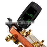 DIHAO Digital Chromatic Clip-on Guitar Bass Tuner T83GB Clip On Big LCD Screen & High Accuracy Best Sell on Alibaba