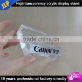 JLP acrylic brand display logo block thick high transparency block