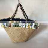 Seagrass handmade handbags,Best quality eco-friendly natural seagrass plant beach bag with handle