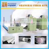 Geotextile needle punch production line, nonwoven machine