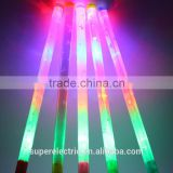 Party Supplies Custom LED Flashing Light Sticks, Plastic LED Light Stick, Colorful Magic LED Light Stick for Concert