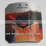 High quality metal printed tag made in china