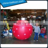 Beautiful snowflake yard balloon/inflatable hanging balloon for Christmas party decoration