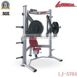 LJ-5704 Decline chest press plate loaded fitness equipment