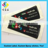 Famous keen price epoxy sticker drops of adhesive stickers magnetic sticker label