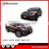 2014 LX570 Sport Body Kit bumpers Original Style fit for LX570 car replacement