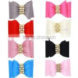 Hot Sale Fashion Women Girls Crystal Rhinestone Bow Hair Clip Beauty Hairpin Barrette Head Ornaments Hair Accessories