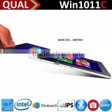 hot selling !10 inch cheap windows 7 tablet pc Intel Baytrail-T Z3740D (Quad-core) 2G/32G 2.0MP/2.0MP Bluetooth 4.0 C