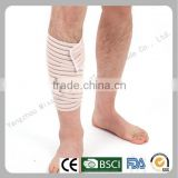 Wholesale beige elastic orthopedic leg support leg wraps