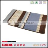 DADA modern style design chenille no hair removal bathroom rug anti slip mat super absorbent carpet