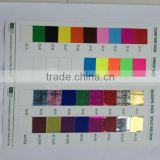 fluorescent paper&holographic paper&metallic paper Adhesive label paper(sticker)