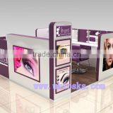 high quality customized direct factory sale mall eyebrow threading kiosk | eyebrow kiosk design