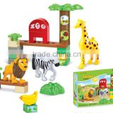 ANIMAL PLAY SET PLASTIC BUILDING BLOCKS 30PCS Y5229029