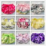 2016 High Quality Baby Ruffle Stain Bloomers ,Baby Colorful Panties Bloomers Wholesale