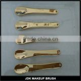 Gold Finishing Cosmetic Spatula for Facial Mask Body Wax Beauty Spatula Mixing Spatula Applicator