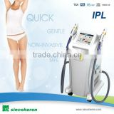 new product 2014 SHR Three Cooling Systems IPL Skin Rejuvenation , Freckle , Wrinkle Removal ipl beauty machine china companies