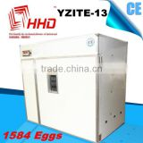 Wholesale Business Full automatic industrial love birds egg incubator CE approved YZITE-13