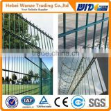 Powder Coated Double Wire Fence/Galvanized Double Wire Fence Panel/Double Wire Fence Factory