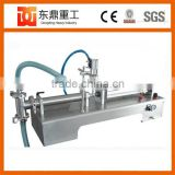 Stianless steel pneumatic liquid dosing filling machine