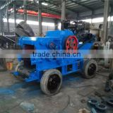 Industrial Mobile Wood Chipper/wood crusher machine with 4 Wheels
