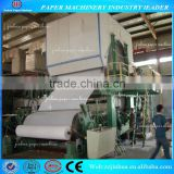 787mm Sanitary Napkin Paper Production Machinery Using Recycling Waste Paper