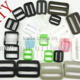 plastic Tri-glide/slider buckle for belt backpacks