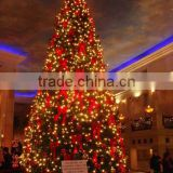 large outdoor christmas decorations 2m to 16m or 6.5ft to 53ft Height artificial large 3d LED Christmas Tree E06 3001