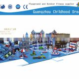 $39.00/Sq.m (CHD-838) Updated new style indoor play structure, naughty castle, indoor amusement park equipment