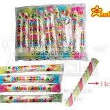 Hot Selling !!! Halal Candy Fruity Flavor Mini Twist Marshmallow