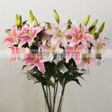 artificial tiger lily flower natural looking wedding decoration foshan