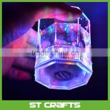 Wholesale party supplies led flashing juic cup with own logo , fashion unique flashing led light plastic juice cup