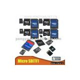 Micro SD Card/TF Card/memory card (Mini card for mobile phone .high speed.with adapter)