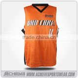 Sublimated usa 2017 latest basketball jersey design
