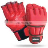 Red Color Grappling Gloves