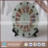 Sublimation clock parts clock face clockwork clocks