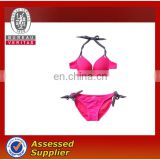 sexi ladies pink bikini swimsuits