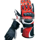 Analine Leather Motorbike Gloves