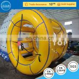 Top inflatables running roller factory outlet inflatable water roller