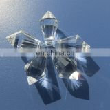 20*12mm machine cut crystal chandelier parts/drop pendant