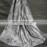 Silk Shawls / Scarf With Pattern