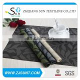 Hot sale 4 colors jacquard PVC placemat