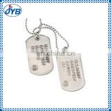 stainless steel blank skull resin dog tag